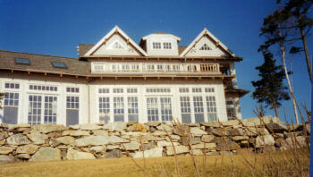 Residence built by Malloy Construction, Inc.