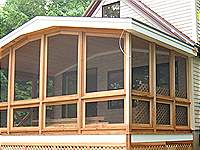 Residential Cedar Porch